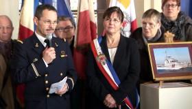 2013-02-09 - Cérémonie de parrainage de la vedette de gendarmerie maritime YSER